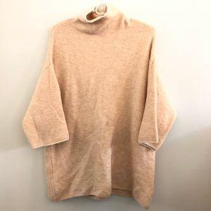 Zara Knit Italian Yarn Turtleneck Sweater
